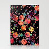 confetti Stationery Cards featuring Confetti by Schatzi Brown