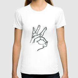 Meridian Finger T-shirt