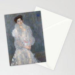 Gustav Klimt - Portrait of Hermine Gallia Stationery Cards