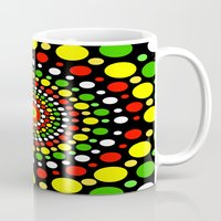 rasta Mugs featuring Rasta by Liqrush
