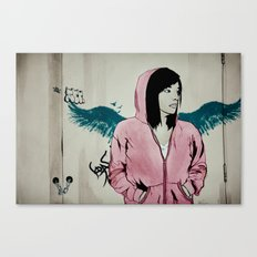 Lonely Youth Canvas Print
