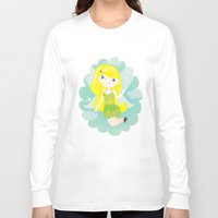 fairy Long Sleeve T-shirts featuring Fairy by Maria Jose Da Luz