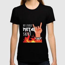 My First Metal Shirt Festival Concert For Metal Heads T-shirt