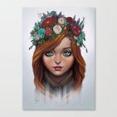 Garden's Breeze  Canvas Print