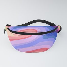 Psychedelic Rainbow 1 Fanny Pack