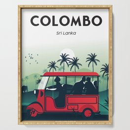 Colombo sri lanka Serving Tray
