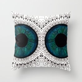 Eye of Cecile  Throw Pillow