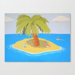 Cross Eyed Crab Canvas Print