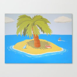 Cross Eyed Crab Canvas Print