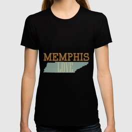 Memphis Love | Tennessee USA State Homeland T-shirt