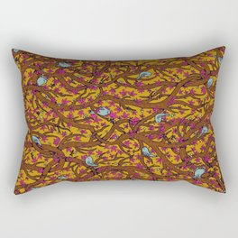 the singing forest Rectangular Pillow