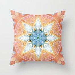 Flower of Life Mandalas 3 Throw Pillow