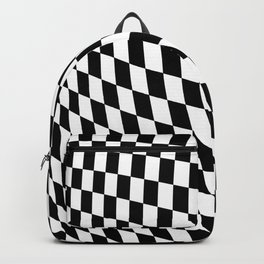 Warped Checkerboard Backpack