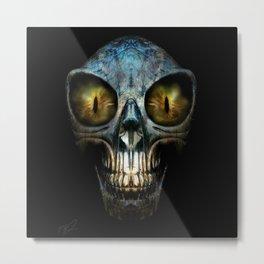 ALIEN NIGHTMARE Metal Print
