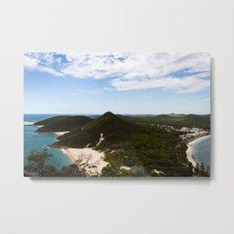 Mount Tomaree Views Metal Print
