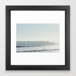 i'm a bird Framed Art Print
