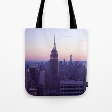Top of the Rock - New York Skyline Tote Bag