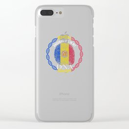 Andorra Its In My DNA Clear iPhone Case