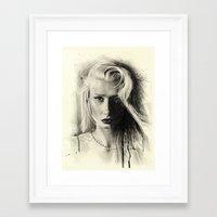 iggy azalea Framed Art Prints featuring Iggy by Creadoorm