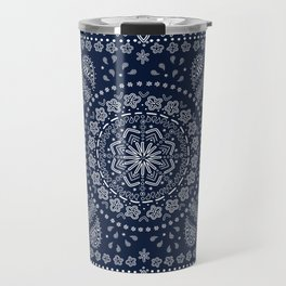 Zendana Navy Bandana Travel Mug