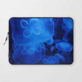 Blue Jellyfish II Laptop Sleeve