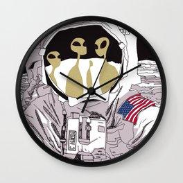 Meet Buzz Aldrin Wall Clock