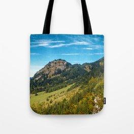 Hohenschwangau Mountains Tote Bag