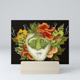 The Green Seer Mini Art Print