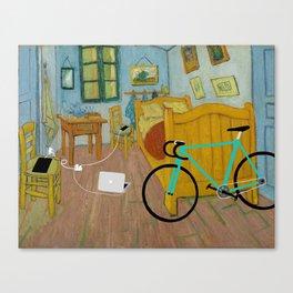 His room Canvas Print