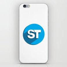 Supreme Social Theme  iPhone & iPod Skin