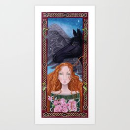 Goddess of Magical Things Art Print