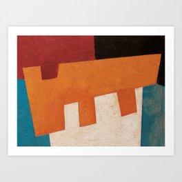 Вол и Bода (Ox and Water) Art Print