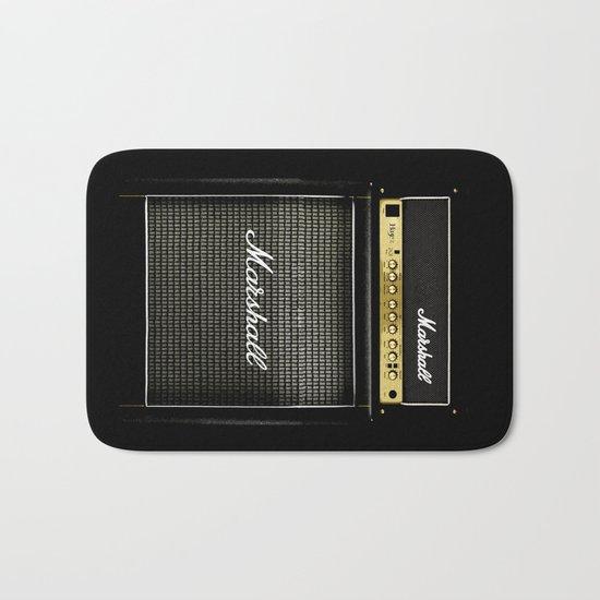 guitar electric amp amplifier iPhone 4 4s 5 5s 5c, ipod, ipad, tshirt, mugs and pillow case Bath Mat