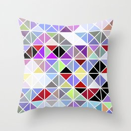 Triangle No. 2 Throw Pillow
