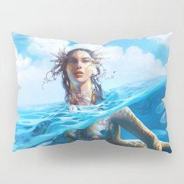 Ray Mermaid Pillow Sham