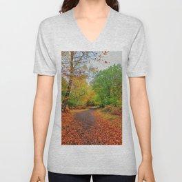 Autumn Dream Unisex V-Neck