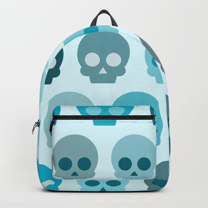 Colorful Skull Cute Pattern II Backpack