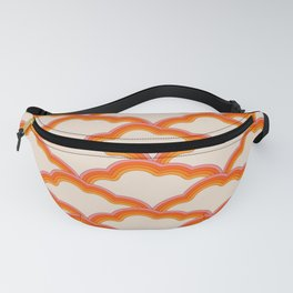Warm Clouds Fanny Pack