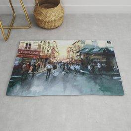 PARIS Street - Painting Rug