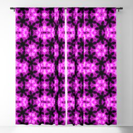 Pink Pattern Abstract Art Seamless Geometry Color Blackout Curtain