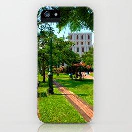 Saigon River Garden iPhone Case