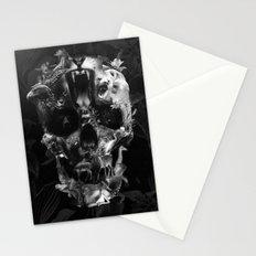 Kingdom Skull B&W Stationery Cards