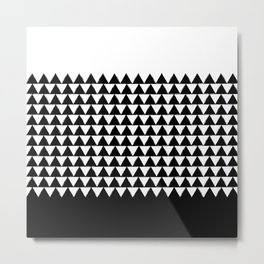 Mano Shark pattern Metal Print