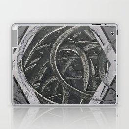 Junction - hexagon graphic Laptop & iPad Skin