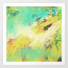 theGATHERINGsquare Art Print