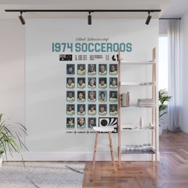 1974 Socceroos Our History Wall Mural