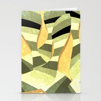 striped Stationery Cards featuring striped by Herb Vaine