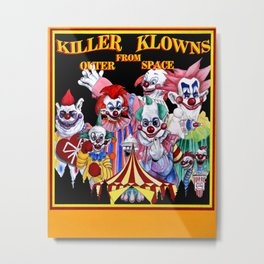 Killer Klowns From Outer Space Metal Print