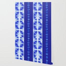 Shibori strips Wallpaper