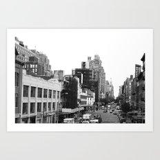 Highline Art Print